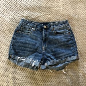 Aeropostale High Wasted Denim Shorts